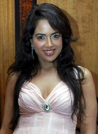 Bollywood actress Sameera Reddy poses