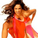 Actress Sameera in red