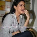 asin at radio mirchi studio 4 mastione 150x150 Actress ASIN in New look