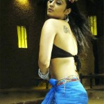Nikitha shows her tattoos in nice way