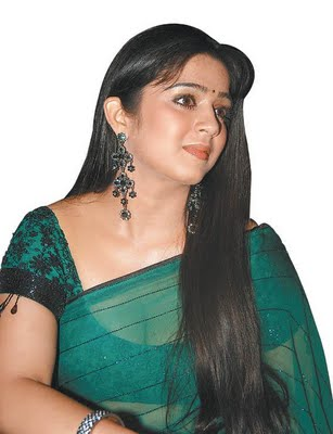 charmi-saree-navel