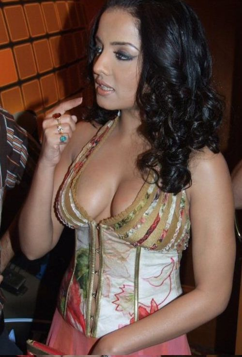 Celina Jaitley cleavage show hot