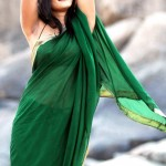 Hot-Anushka-Saree-Navel