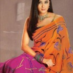 Shweta-Tiwari-hot-saree-navel