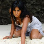 sanjana hot expose 150x150 Kannada actress Sanjana hot photo gallery