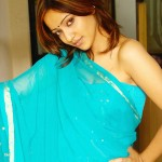 sexy-neha-sharma-saree-hot-navel