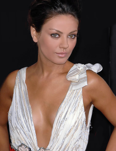 Mila Kunis hot spicy cleavage Mila Kunis Hot Photo Gallery