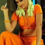navaneet-kaur-hot-saree-cleavage