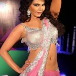 Rakhi-Sawant-Hot-Saree-Navel