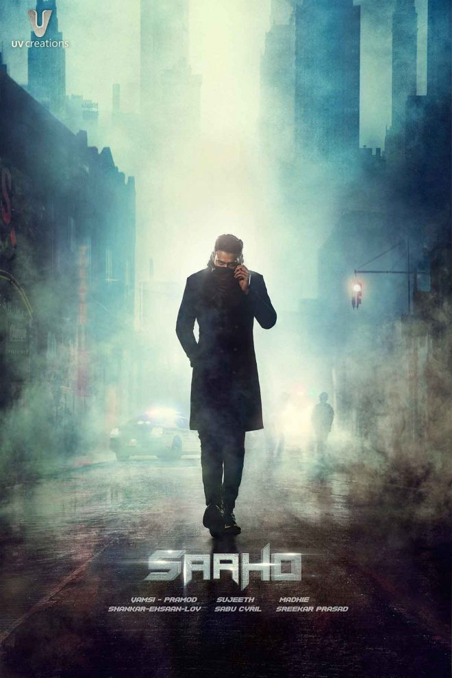 Prabhas first poster of Saaho