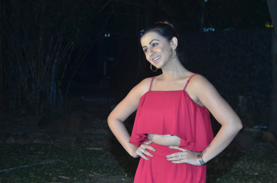 nikki_galrani_hot_in_red_dress_03