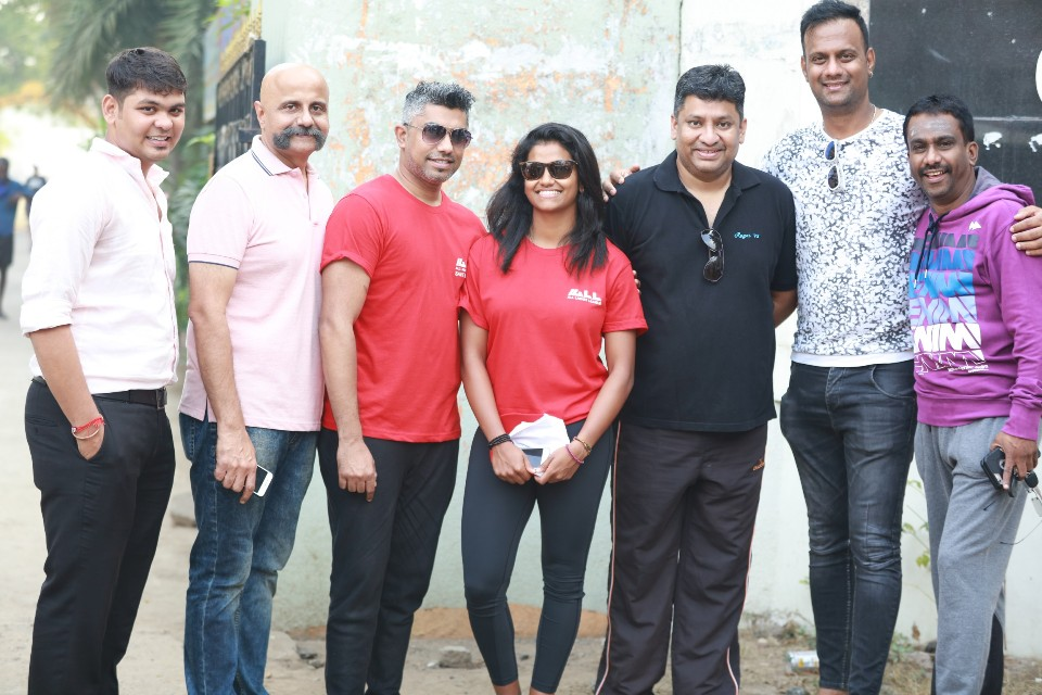 walk a mile in her shoes event stills 13 Actress Varalakshmi Against Domestic Violence