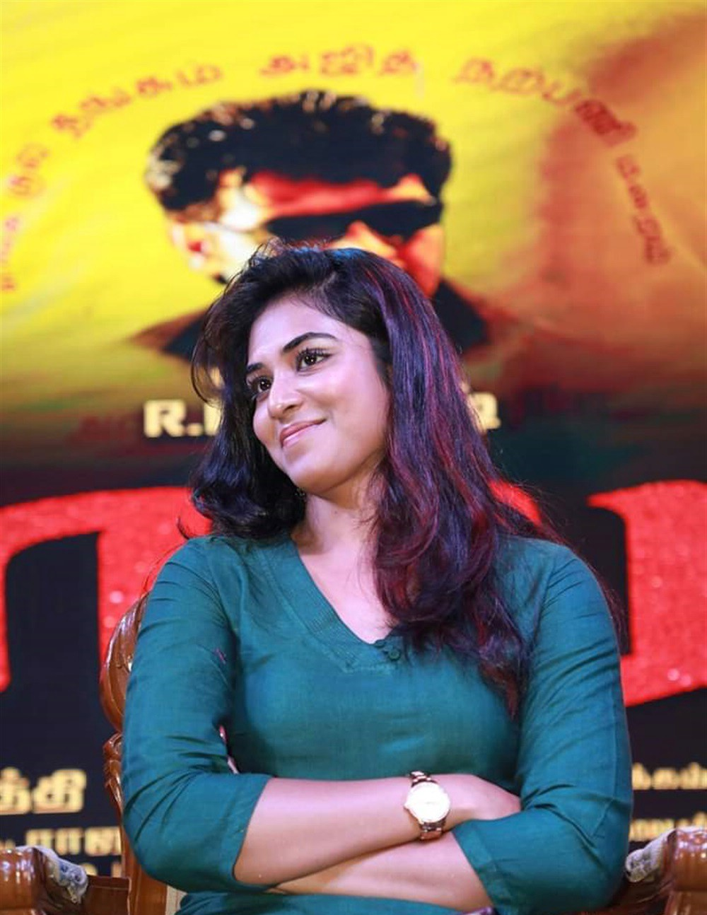 actress-indhuja-pictures-billa-pandi-audio-release-10