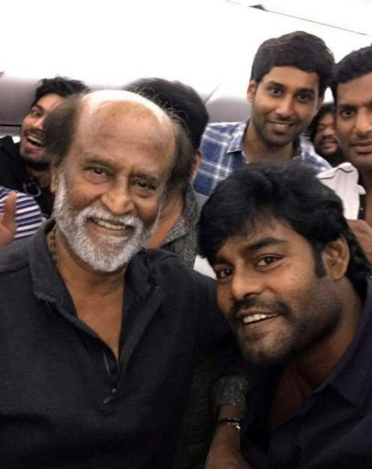 actors with rajini kanth selfie actor actress selfie images