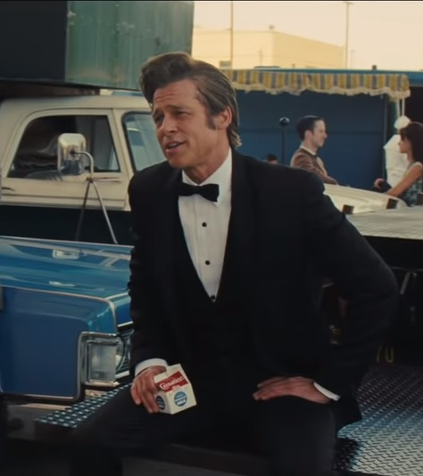 brad pitt once upon a time in hollywood Once upon a time in... Hollywood   Leo and Brad team up!