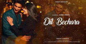 dil bechara new movie images