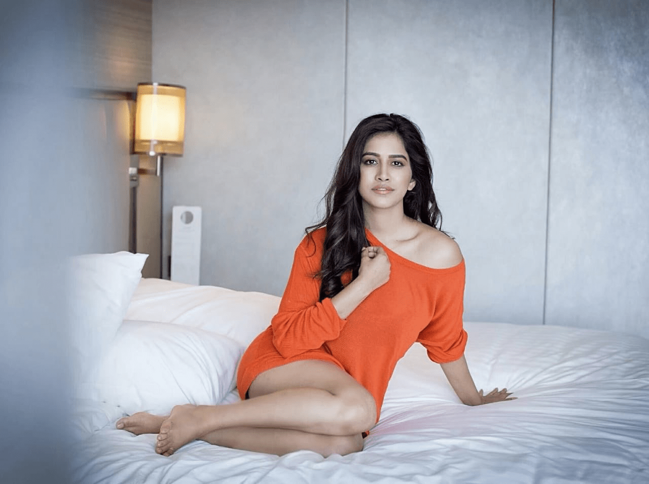 hot nabha natesh stills